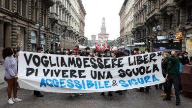 Photo of OGGI IL RIENTRO IN CLASSE PER 640 MILA STUDENTI, PROSEGUONO LE PROTESTE ANCHE IN ABRUZZO