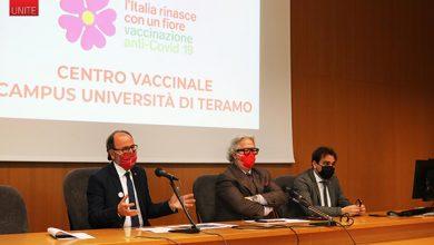 Photo of L'UNIVERSITÀ DI TERAMO DIVENTA HUB VACCINALE