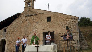 Photo of PACENTRO, RIPRENDE VITA L'EREMO DI SAN GERMANO